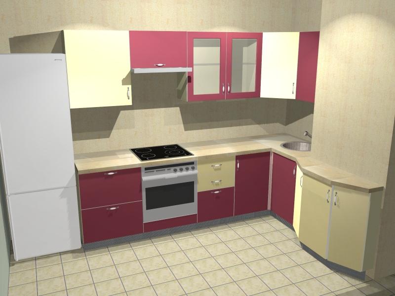Дизайн Кухни 9 Кв М С Коробом И Балконом
