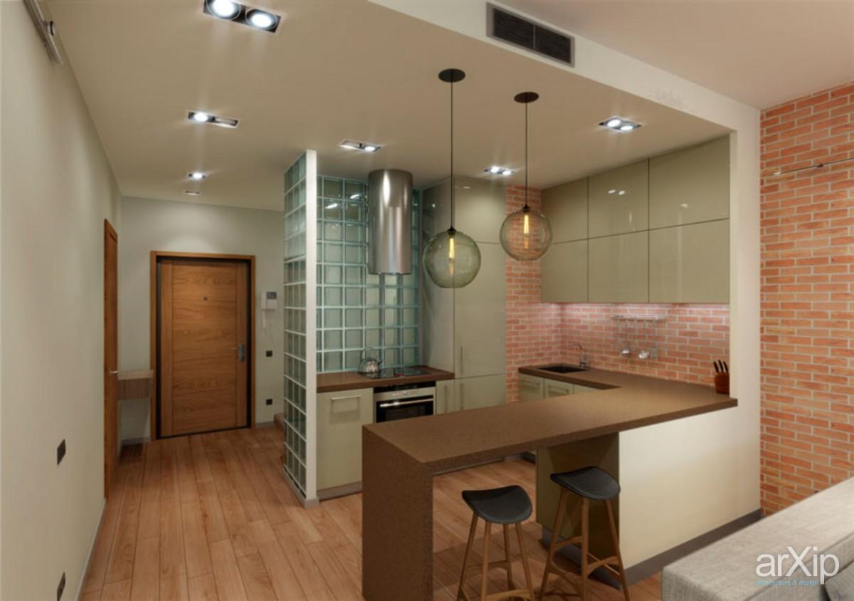 Ниша в кухне дизайн