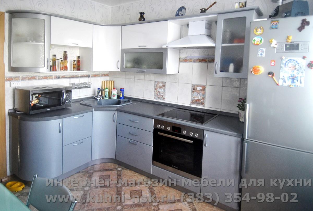 Угловая кухня 9 метров фото
